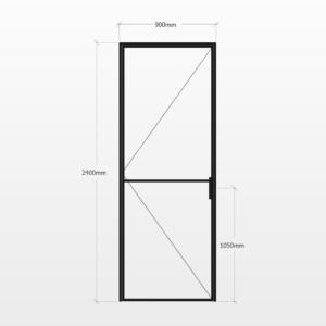 Design Plus Steel Door F2 Design