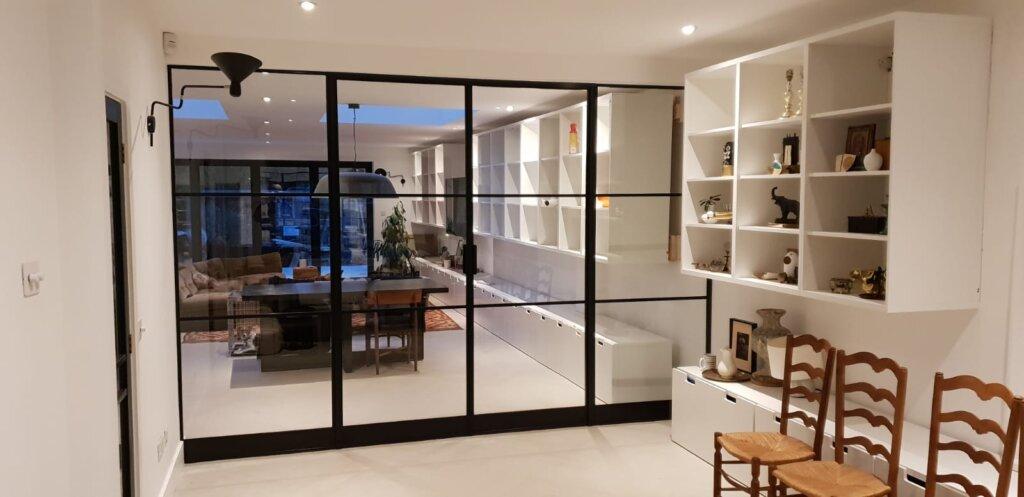 Internal Slim Steel Doors Design Plus London 04